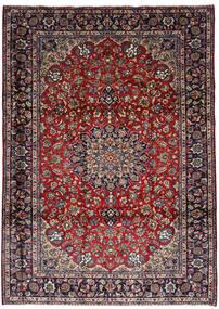 Nadżafabad Dywan 251X348 Orientalny Tkany Ręcznie Ciemnoczerwony/Ciemnobrązowy Duży (Wełna, Persja/Iran)