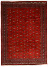 Pakistański Bucharski 2Ply Dywan 303X408 Orientalny Tkany Ręcznie Ciemnoczerwony/Rdzawy/Czerwony Duży (Wełna, Pakistan)