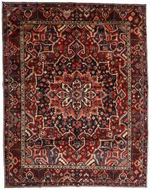 Baktjar Dywan 303X390 Orientalny Tkany Ręcznie Ciemnoczerwony Duży (Wełna, Persja/Iran)