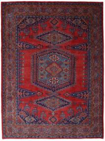Wiss Dywan 253X344 Orientalny Tkany Ręcznie Ciemnoczerwony/Ciemnofioletowy Duży (Wełna, Persja/Iran)