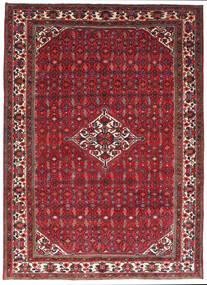 Hosseinabad Dywan 205X284 Orientalny Tkany Ręcznie Ciemnoczerwony/Czerwony (Wełna, Persja/Iran)