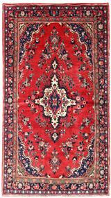 Mehraban Dywan 130X236 Orientalny Tkany Ręcznie Czerwony/Ciemnofioletowy (Wełna, Persja/Iran)