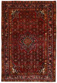 Hosseinabad Dywan 164X250 Orientalny Tkany Ręcznie Ciemnoczerwony/Ciemnobrązowy (Wełna, Persja/Iran)