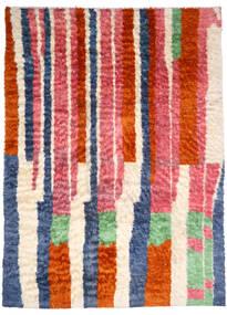 Moroccan Berber - Afghanistan Dywan 245X346 Nowoczesny Tkany Ręcznie Jasnoróżowy/Rdzawy/Czerwony (Wełna, Afganistan)