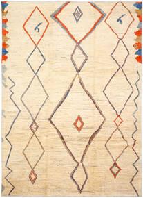 Moroccan Berber - Afghanistan Dywan 255X365 Nowoczesny Tkany Ręcznie Beżowy/Ciemnobeżowy Duży (Wełna, Afganistan)