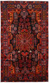Nahawand Dywan 150X260 Orientalny Tkany Ręcznie Ciemnobrązowy/Ciemnoczerwony/Rdzawy/Czerwony (Wełna, Persja/Iran)