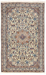 Nain Dywan 155X255 Orientalny Tkany Ręcznie Jasnoszary/Ciemnoszary (Wełna, Persja/Iran)