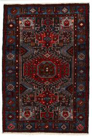 Saveh Dywan 142X210 Orientalny Tkany Ręcznie Ciemnoczerwony (Wełna, Persja/Iran)