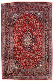 Keszan Dywan 190X290 Orientalny Tkany Ręcznie Ciemnoczerwony/Ciemnobrązowy (Wełna, Persja/Iran)