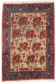 Afszar Dywan 164X235 Orientalny Tkany Ręcznie Ciemnoczerwony/Czarny (Wełna, Persja/Iran)