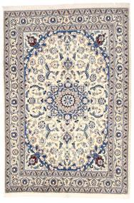 Nain Dywan 164X240 Orientalny Tkany Ręcznie Jasnoszary/Beżowy (Wełna, Persja/Iran)