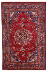 Meszhed Dywan 194X300 Orientalny Tkany Ręcznie Ciemnoczerwony/Ciemnofioletowy (Wełna, Persja/Iran)