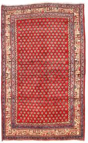 Arak Dywan 125X205 Orientalny Tkany Ręcznie Ciemnoczerwony/Czerwony (Wełna, Persja/Iran)