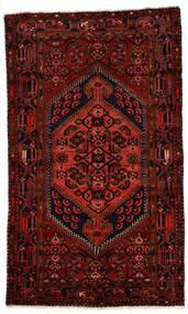 Zanjan Dywan 124X211 Orientalny Tkany Ręcznie Ciemnoczerwony (Wełna, Persja/Iran)
