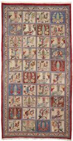 Baktjar Collectible Dywan 153X300 Orientalny Tkany Ręcznie Chodnik Ciemnoczerwony/Ciemnobrązowy (Wełna, Persja/Iran)