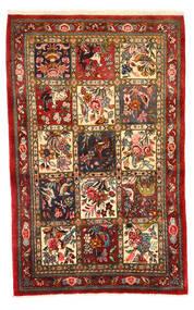 Baktjar Collectible Dywan 108X171 Orientalny Tkany Ręcznie Ciemnoczerwony/Ciemnobrązowy (Wełna, Persja/Iran)