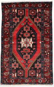 Hamadan Dywan 125X203 Orientalny Tkany Ręcznie Ciemnoczerwony/Biały/Creme (Wełna, Persja/Iran)