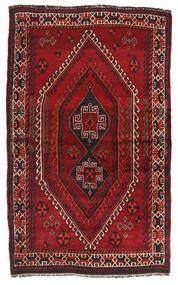 Sziraz Dywan 130X210 Orientalny Tkany Ręcznie Ciemnoczerwony (Wełna, Persja/Iran)