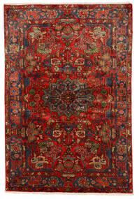 Nahawand Old Dywan 150X222 Orientalny Tkany Ręcznie Ciemnoczerwony/Ciemnobrązowy (Wełna, Persja/Iran)