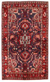 Nahawand Dywan 143X244 Orientalny Tkany Ręcznie Ciemnoczerwony/Ciemnoniebieski (Wełna, Persja/Iran)