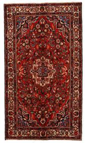 Lillian Dywan 159X278 Orientalny Tkany Ręcznie Ciemnoczerwony/Rdzawy/Czerwony (Wełna, Persja/Iran)