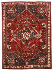 Sziraz Dywan 198X274 Orientalny Tkany Ręcznie Ciemnobrązowy/Ciemnoczerwony (Wełna, Persja/Iran)