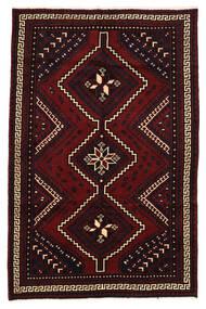 Lori Dywan 158X248 Orientalny Tkany Ręcznie Ciemnoczerwony (Wełna, Persja/Iran)
