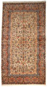 Kerman Ca. 1980 Dywan 360X665 Orientalny Tkany Ręcznie Ciemnoszary/Jasnobrązowy Duży (Wełna, Persja/Iran)