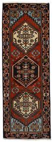Ardabil Dywan 65X188 Orientalny Tkany Ręcznie Chodnik Ciemnobrązowy/Ciemnoczerwony (Wełna, Persja/Iran)