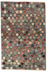 Moroccan Berber - Afghanistan Dywan 116X177 Nowoczesny Tkany Ręcznie Ciemnoszary/Czarny (Wełna, Afganistan)