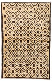 Moroccan Berber - Afghanistan Dywan 110X173 Nowoczesny Tkany Ręcznie Beżowy/Ciemnobrązowy/Ciemnobeżowy (Wełna, Afganistan)