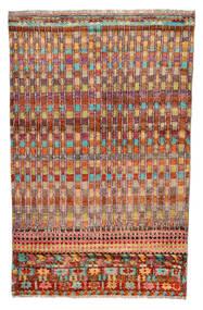 Moroccan Berber - Afghanistan Dywan 110X177 Nowoczesny Tkany Ręcznie Ciemnoczerwony/Czerwony (Wełna, Afganistan)