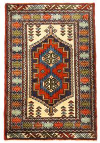 Turkmeński Dywan 61X93 Orientalny Tkany Ręcznie (Wełna, Persja/Iran)