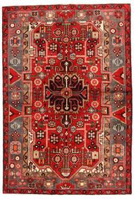 Koliai Dywan 130X193 Orientalny Tkany Ręcznie Ciemnoczerwony/Rdzawy/Czerwony (Wełna, Persja/Iran)