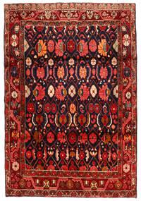 Koliai Dywan 134X198 Orientalny Tkany Ręcznie Ciemnoczerwony/Czarny (Wełna, Persja/Iran)