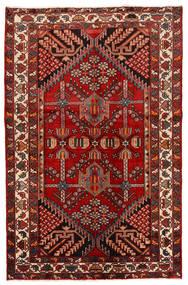 Rudbar Dywan 130X200 Orientalny Tkany Ręcznie Ciemnoczerwony/Rdzawy/Czerwony (Wełna, Persja/Iran)