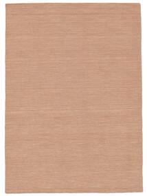 Kilim Loom - Dusty Rose Dywan 160X230 Nowoczesny Tkany Ręcznie Czerwony/Jasnoróżowy (Wełna, Indie)