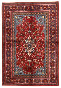 Zanjan Dywan 156X292 Orientalny Tkany Ręcznie Ciemnoczerwony/Rdzawy/Czerwony (Wełna, Persja/Iran)
