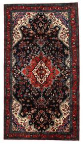 Lillian Dywan 160X288 Orientalny Tkany Ręcznie Czarny/Ciemnoczerwony (Wełna, Persja/Iran)