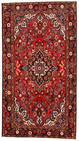Hosseinabad Dywan 160X296 Orientalny Tkany Ręcznie Ciemnoczerwony/Rdzawy/Czerwony (Wełna, Persja/Iran)