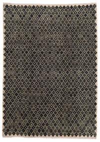 Moroccan Berber - Afghanistan Dywan 202X286 Nowoczesny Tkany Ręcznie Ciemnoszary/Jasnoszary (Wełna, Afganistan)