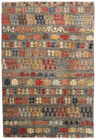 Moroccan Berber - Afghanistan Dywan 205X300 Nowoczesny Tkany Ręcznie Ciemnoszary/Jasnoszary (Wełna, Afganistan)