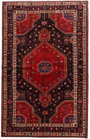 Toiserkan Dywan 141X225 Orientalny Tkany Ręcznie Ciemnoczerwony (Wełna, Persja/Iran)