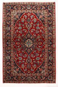 Keszan Dywan 97X147 Orientalny Tkany Ręcznie Ciemnoczerwony/Beżowy (Wełna, Persja/Iran)