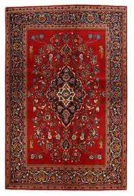 Keszan Dywan 138X210 Orientalny Tkany Ręcznie Rdzawy/Czerwony/Ciemnobrązowy (Wełna, Persja/Iran)