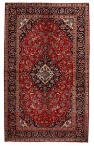 Keszan Dywan 151X247 Orientalny Tkany Ręcznie Ciemnoczerwony/Rdzawy/Czerwony (Wełna, Persja/Iran)
