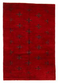 Huttan Dywan 125X183 Orientalny Tkany Ręcznie Ciemnoczerwony (Wełna, Pakistan)