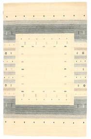 Loribaf Loom Dywan 154X245 Nowoczesny Tkany Ręcznie Beżowy/Żółty (Wełna, Indie)