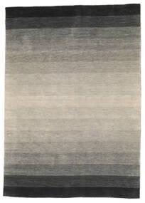 Loribaf Loom Dywan 170X240 Nowoczesny Tkany Ręcznie Jasnoszary/Ciemnozielony (Wełna, Indie)