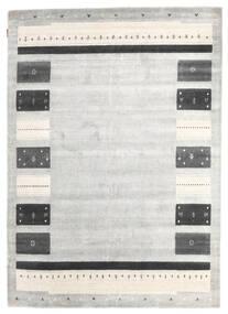 Loribaf Loom Dywan 167X235 Nowoczesny Tkany Ręcznie Jasnoszary/Ciemnobeżowy (Wełna, Indie)